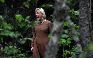 Ur skogen ljöd Frogner-Kockums svar på Sofia Sandéns kulning.