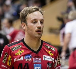 Anton Samuelsson saknas mot Warberg.