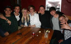 Konrad. Jan, Christoffer, Maria, Johan, Anders, Patrik och Jakob