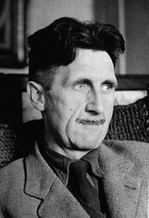 George Orwell. Storebrorspappa.