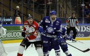 Joonas Rönnbergs roll i Leksand är given. Han är en spelare som ska hålla rent framför eget mål.Foto: Lars I Eriksson Foto: Lars Ingvar Eriksson
