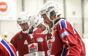 Antti Ekman (längst till höger i bild) har bestämt sig – han lämnar Kalix och elitserien.