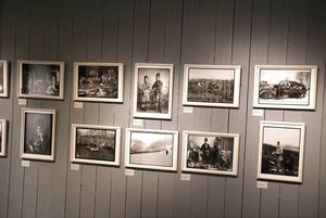 Nils Thomassons fotografier visas på Härjedalens fjällmuseum.