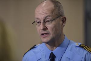 Mats Löfving, chef för polisens Nationella operativa enhet.