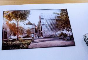 En bild som fungerat som inspiration för Kevin Denham under arbetet med rapporten om containerbostäder.