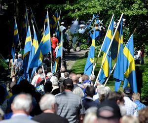 Så här såg det ut vid Djäkneberget på nationaldagen 2010.