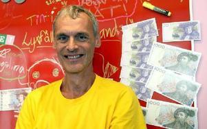 Krister Andersson, etta på v-listan i Falun där hans parti har tre mandat. FOTO: JOHNNY FREDBORG