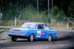 Anders Bergström, Hede, tog hem årets Sponsorcup i rallycrossklassen.