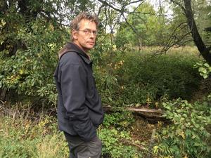 Henrik C Andersson, länsfiskekonsulent vid länsstyrelsen. Foto: Christina Gunnarsson