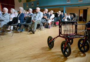 Seniordagen brukar locka många till Erikslunds Folkets hus, som här när det bjöds på samkväm 2014.