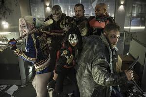 """""""Suicide squad"""" tar superhjältegenren ännu längre in i mörkret."""