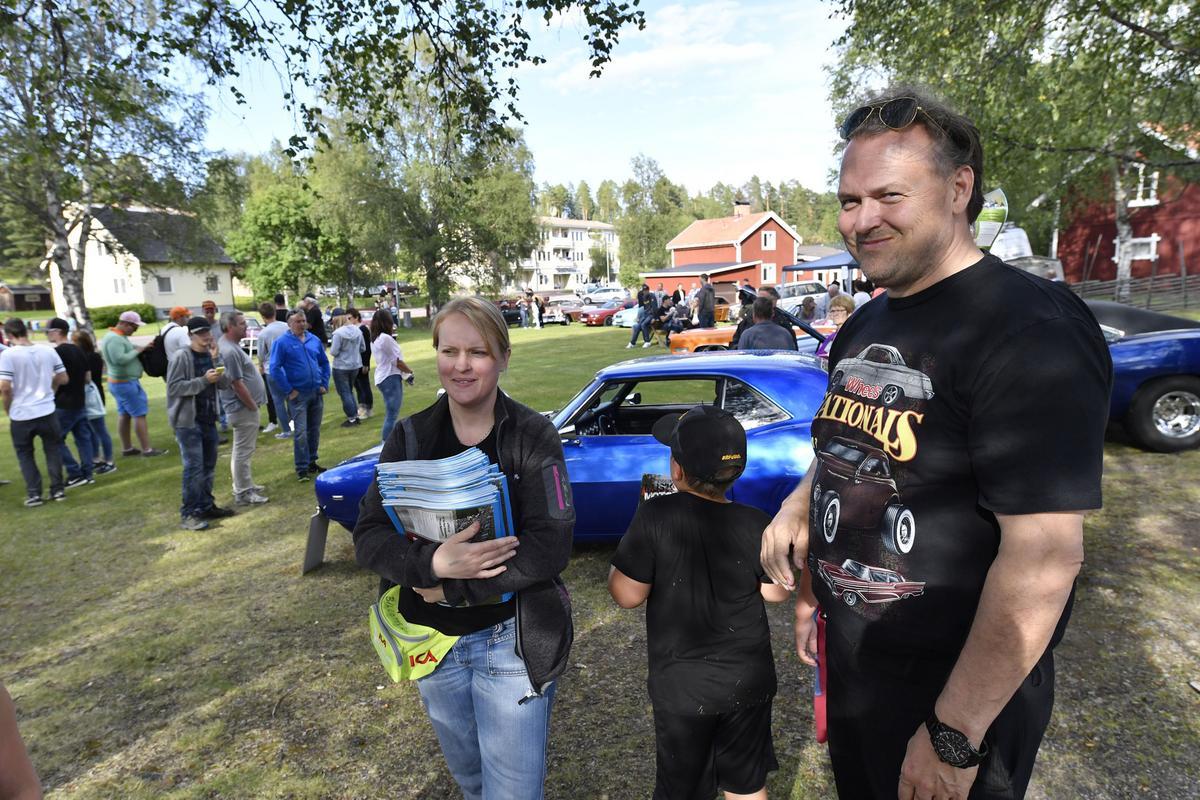 Musik Och Motorfestivalen Växer