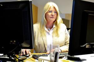 Kristina Mårtensson, länsverksamhetschef för vuxenpsykiatrin i Landstinget Västernorrland, känner en oro för att de ökande problemen med psykisk ohälsa gör att psykiatrins resurser inte räcker till.