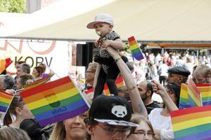 Pride är tillbaka i Gävle. Bild: Arkiv.