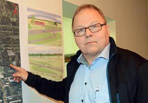 Olle Larsson, vd Fiskarhedens sågverk.