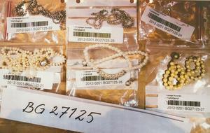 När polisen slog till i lägenheten de hyrde i Norsborg, hittades mängder av stulna smycken, som inte hade hunnit återsändas till hemlandet.