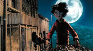 Prokofjevs orkesterstycke Peter och vargen spelas till den tecknade filmen för en yngre publik.