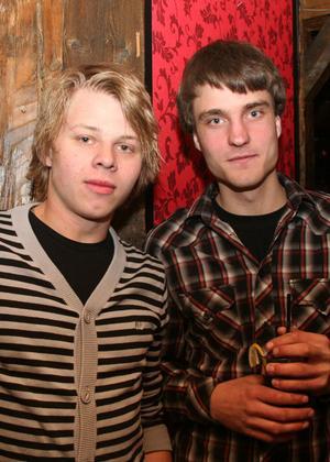 Konrad. Fredrik och Markus