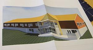 Demensboendet Risholnsgården byggs ut under hösten. De nya rummen blir typmodell för kommande äldreboenden i Falun.