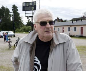 Stig-Björn Westberg kände Stefan Lööf sedan barndomen och fanns i publiken under matchen.