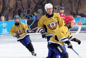 Hans Elis Johansson i Kina i januari.