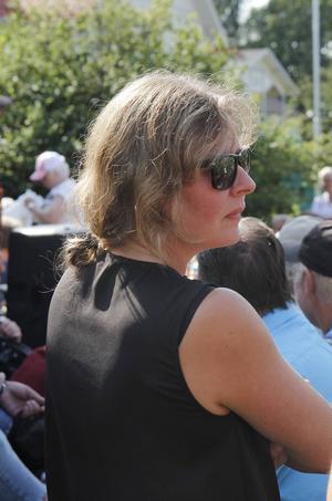 Bror-Erics dotter Katarina Byléhn fanns på plats.