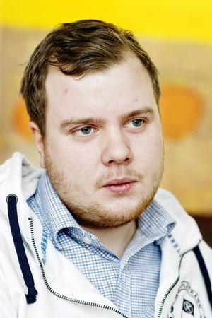 Emil Burman (S), ordförande i socialnämnden i Östersunds kommun.