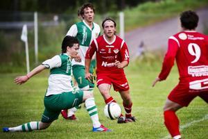 Marcus Norberg var Anundsjös bäste spelare och även målskytt i 1-1 matchen mot Assi.