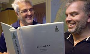 Sören Byström och Peter Wiklund har strategin klar för de närmaste åren.