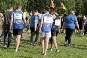 Vilken tid vill du springa på? Med glimten i ögat utlovade arrangörerna att det bara vara att ta rygg på den vars tid man själv önskade få över mållinjen.
