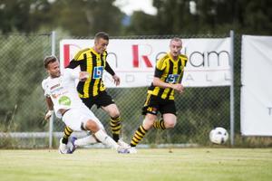 Söderhamns FF slutade som vinnare i den första omgången av Svenska cupen.