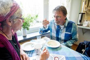 Carin Gisslén Schönning och Stefan Holm vill se ett hållbart Söderhamn i framtiden.