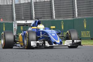 Marcus Ericsson i sin Sauber.