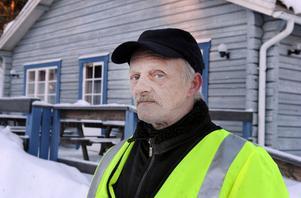 En av många eldsjälar som driver Koldemoåsen är Ingemar Lundvall.