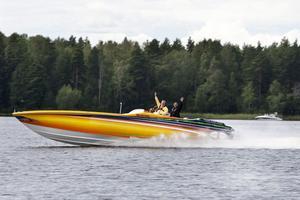 Snabba båtar är ett klassiskt inslag på Runndagarna.