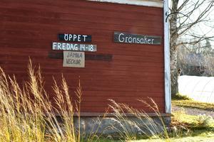 Gårdsbutiken i Hansjö håller öppet ett tag till.