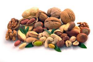 Cashew, pistage, valnöt, hasselnöt eller pekan - det är bara att välja och vraka.