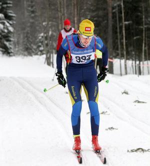 Överlägsen damsegrare: Annika Löfström.