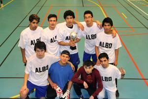 Team Albo med avbytare var ohotade genom hela turneringen.