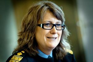 Ebba Sverne Arvill, tf länspolismästare i Örebro län.
