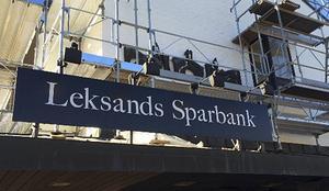 Leksands Sparbank – nu är ombyggnaden klar.