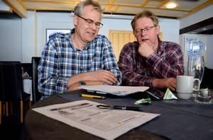 Peter Gunnarsson och Leif
