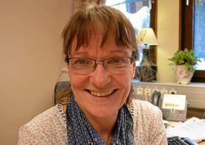 Kristina älskar sitt arbete som enhetschef på Hagby ängar.