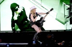 Madonna uppträdde för ett fullsatt Ullevi i går kväll.