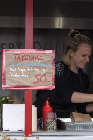 Japansk snabbmat från Kødbyens Mad & Marked.   Foto: Annika Goldhammer