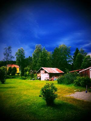 Underbar sommardag i Lillhallen, Svenstavik ... Åsa Gustafsson