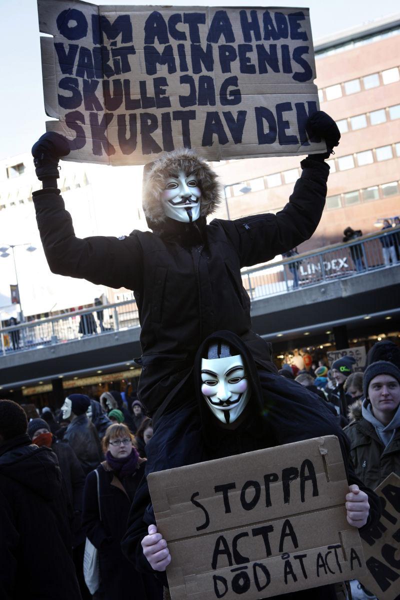 Masken som blev en politisk symbol