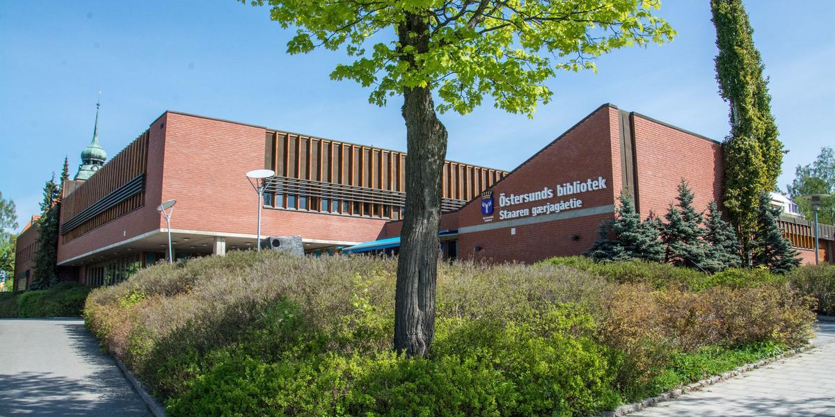 Östersunds bibliotek kan köpas för 20 miljoner kronor