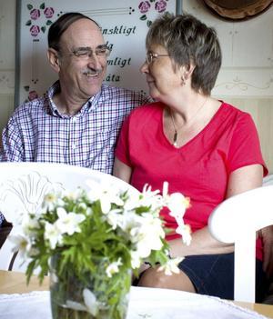 Lars och Kerstin Ohlsson ser fram emot en vecka på Madeira där de firar sin bröllopsdag.