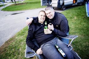 Sundsvallsgrabbarna (Njurunda) Petter Byberg och Tomas Millred.